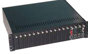 Managed Rack Mount Converter (STE-51X)