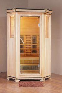 Wooden Infrared Sauna Cabin (Royal-II-H1)