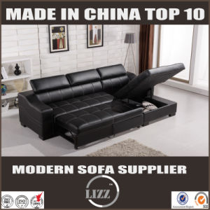 Modern Leather Sofa Bed Furniture pictures & photos