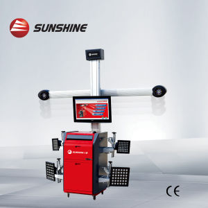 Sunshine Brand 3D Wheel Alignment with Electric Adjustable Beam (S-F8)
