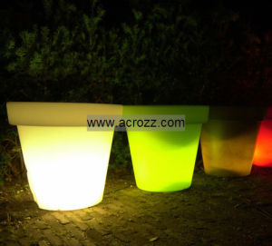Bloom Pot, Ice Cube, LED Lighting pictures & photos