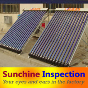 Solar Water Heater Quality Control and Inspection Services pictures & photos
