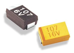 RoHS Certification Case-B Type Chip/SMD Tantalum Capacitor Tmct02 pictures & photos