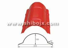 CE Roll Forming Machine Roof Ridge Cap (SB 42-120-312)