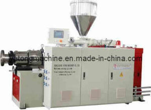 Sjsz80 Conical Double Screw Extruder pictures & photos