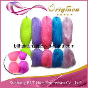 Fashional Colorful 100% Kanekalon Jumbo Braid/Expression Braiding Hair