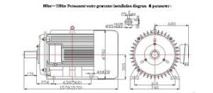 80kw-320kw 50Hz Hydro Turbine Generator pictures & photos