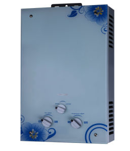 Gas Water Heater with Glass Panel and Flame Failure Safety Device