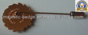 Customized Stragint Brooch Pin (MJ-PIN-015) pictures & photos