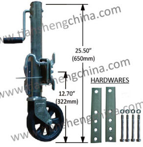 1500lbs Capacity Marine Jacks (Jockey Wheel) (TJ-1500B-Z)