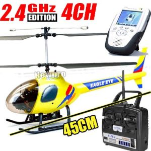 Eagle Eye 4CH 45cm Coaxial RC Helicopter Rtf 2.4GHz Wireless Video Camera Function (AT0411)
