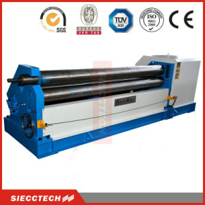 Mechanical Symmetrical 3 Roller Plate Bending Machine (W11F-6X2500) pictures & photos