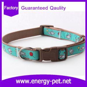 Custom Pattern Dog Accessories Nylon Print Pet Collar pictures & photos