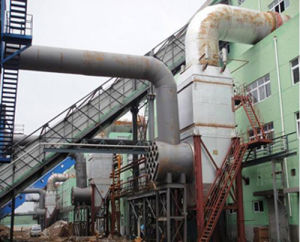 Silicomanganese Submerged Arc Furnace Exhaust Gas Heat Boiler