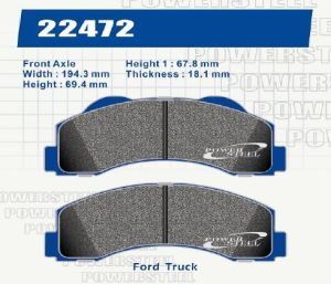 D1414 Brake Pads for Ford Truck pictures & photos