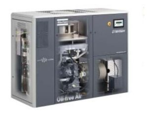 Atlas Copco Oil Free Screw Air Compressor, Compressor, Air Compressor (ZR45 ZT45) pictures & photos