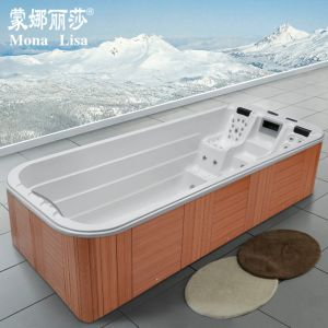 Factory Direct Endless Friendly Oudoor SPA Jacuzzi Pool pictures & photos