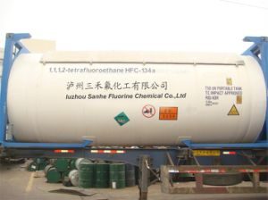 Freon Gas Refrigerant 134A with ISO Tank Packing pictures & photos