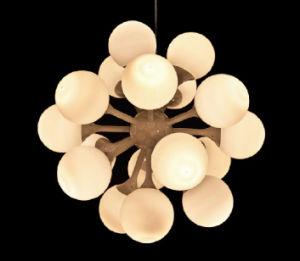 2015 LED 17 Light Bulb Art Chandelier