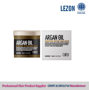 Repair Hair Mask with Argan Oil, 24k Gold Hair Mask