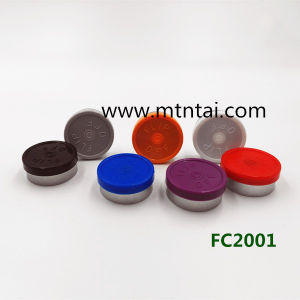 20mm Red Color Flip off Caps pictures & photos
