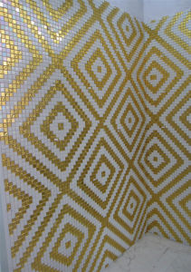Glass Mosaic, Wall Mosaic Pattern Tile (HMP772) pictures & photos