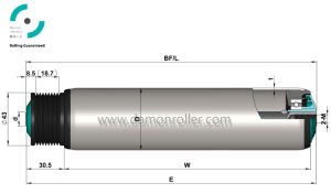 ISO9001 Poly-Vee Conveyor Roller (2250) pictures & photos