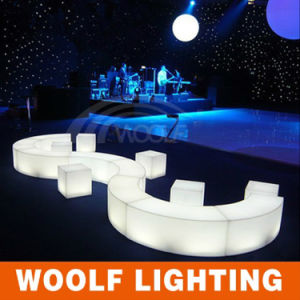 Plastic Material and Bar Furniture Type LED Cube/LED Cube Chairs/Light pictures & photos