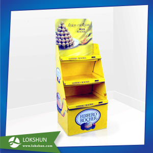 Pop Cardboard Floor Display, Paper Cardboard Display Rack pictures & photos