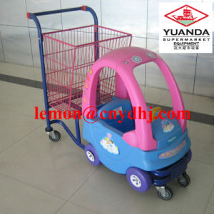 Supermarket Kids Toy Baby Seat Shopping Cart pictures & photos