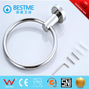 High Quality Brass Bathroom Accessory Towel Ring (BG-D9011) pictures & photos