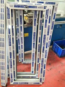 Zhongcai Blue-White Multi-Cavity UPVC Profiles White High Anti-UV UPVC Profiles pictures & photos