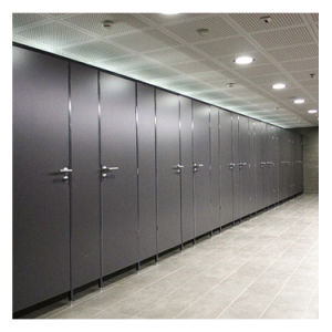 Used School Compact Laminate Material Toilet Cubicle Partition pictures & photos