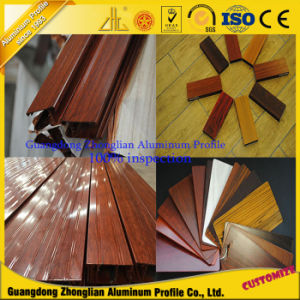 Hot Selling ISO9001 Wood Grain Aluminium Fence pictures & photos