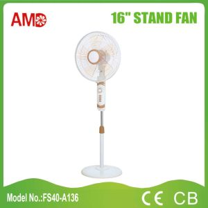 New Design Good Quality 16 Inch Stand Fan with Ce CB Certificate (FS40-A136) pictures & photos