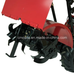208cc, 7HP 4 Cycle Ohv Engine Tiller Cultivator pictures & photos