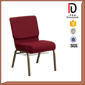 Church Chairs with Metal Net Bookshelf Br-J017 pictures & photos