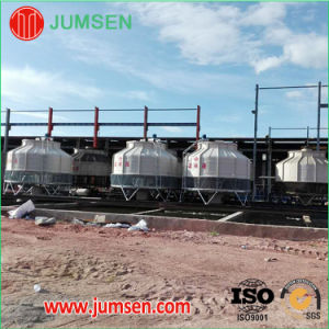 Open Counterflow Round FRP Water Cooling Tower pictures & photos