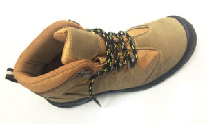 High Quality Suede Leather Safety Footwear Work Boots Shoes pictures & photos