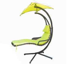 Delux Steel Swing Chair (C6002) pictures & photos