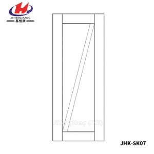 Perfect Design American Interior Wooden Whiter Primer Door (JHK-SK07) pictures & photos
