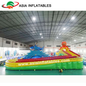 Giant Inflatable Swimming Pool Water Park with Slide, Outdoor Amusement Water Park pictures & photos