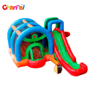 Plastic Ball Inflatable Bouncer Combo Qb092-PVC pictures & photos