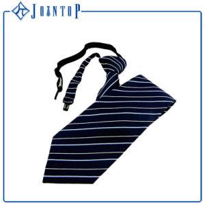 Classic Blue Stripes Silk Woven Uniform Necktie pictures & photos