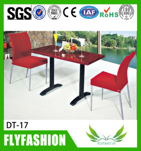 Coffee Shop Table and Chairs Dining Table for Sale (DT-16) pictures & photos