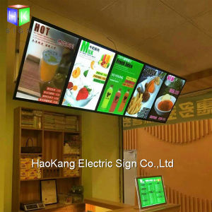 LED Aluminum Backlit Light Box Sign for Picture Frame Menu Board Advertising pictures & photos