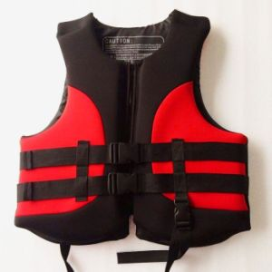 Neoprene Life Jacket with Polyester Fabric pictures & photos