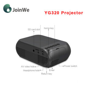 a Good Home LED Mini Home Projector Yg320 pictures & photos