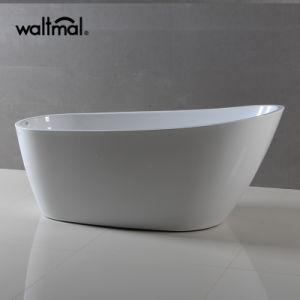 Oval Acrylic Soaking Freestanding Bathtub (WTM-02526) pictures & photos