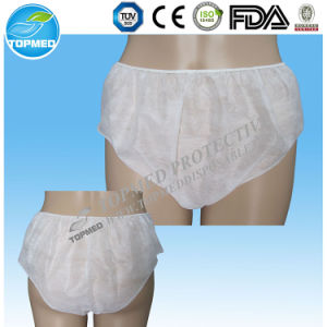 Disposable Nonwoven Sexy Women Tanga Underwear G-String with Ce ISO pictures & photos